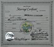 Marriage Certificate Las Vegas