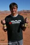 Stolzer Besitzer von Utah Beer