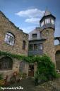 Die Burg Altrathen - ganz oben die Turmsuite