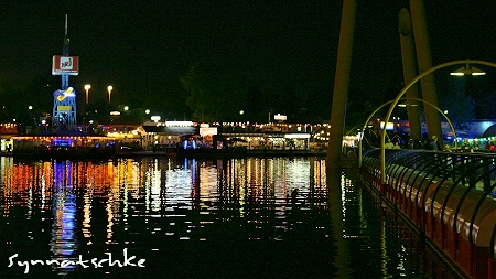 Copa Cagrana und Sunken City bei Nacht