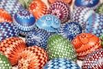 Sorbische Ostereier sind farbenfroh...