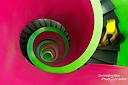 Noch immer auf den Treppen der Universitätsbibliothek Cottbus… zahlreiche Versuche später… :-)