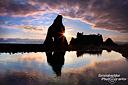 Einer der 12 traumhaften Sonnenuntergänge während unserer Frühlingstour 2011; hier an der Ruby Beach im Olympic National Park