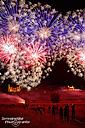 Das Feuerwerk bei der Dresdner Schlössernacht