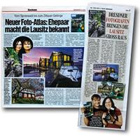 Artikel über unseren Spreewald Bildatlas - Isabel & Steffen Synnatschke