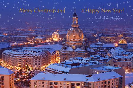 Frauenkirche - Weihnachten in Dresden
