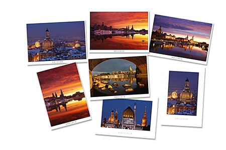 Dresden Postkarten - unsere Postkarten von der art+form Kunstgalerie