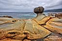 Und irgendwie ist es schon faszinierend, wenn kleine Hoodoos wie hier im Salt Point S.P. direkt am Meer stehen.