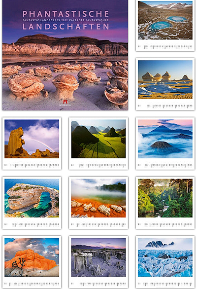Phantastische Landschaften 2012 - Ackermann Kunst-Kalender