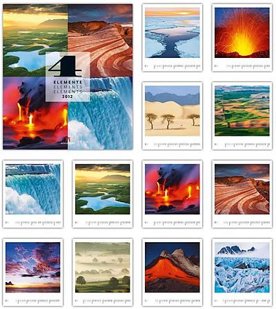 Vier Elemente 2012 - Ackermann Kunst-Kalender
