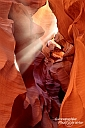 Antelope Canyon - Lichtstrahl im Lower Antelope Canyon