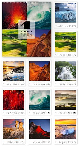 Vier Elemente 2013 - Ackermann Kunst-Kalender