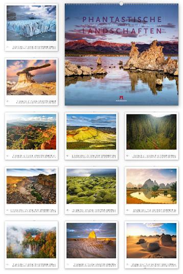 Phantastische Landschaften 2013 - Ackermann Kunst-Kalender