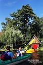 Immer wieder schön, ein Paddel-Wochenende im Spreewald - hier noch eine alte Aufnahme von 2010 mal mit den beiden im Vordergrund, die anderorts nur ganz klein im Hintergrund zu sehen sind. :-)