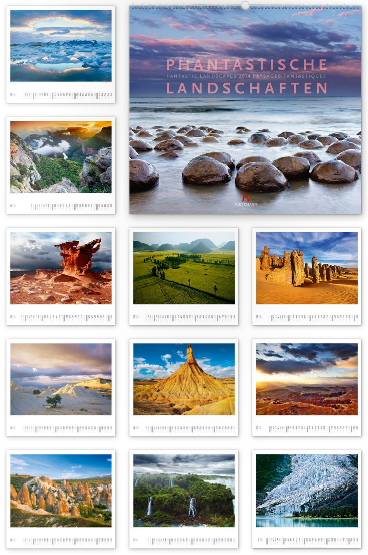 Phantastische Landschaften 2014 - Ackermann Kunst-Kalender