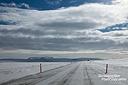 Etwas winterliche Verhältnisse herrschten noch auf der Ringstraße im Nordosten von Island.