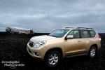 Toyota Landcruiser in Island