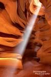 Antelope Canyon - traumhaft schön bei Schönwetter, nicht ungefährlich wenn im Sommer Niederschläge fallen