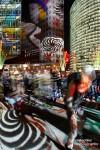 Beim Festival of Lights am Potsdamer Platz steppte der Bär, manchmal im wahrsten Sinne des Wortes... :-)