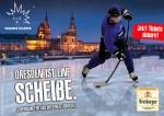 Werbeplakat der Dresdner Eislöwen