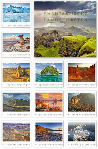 Phantastische Landschaften 2015 - Ackermann Kunst-Kalender