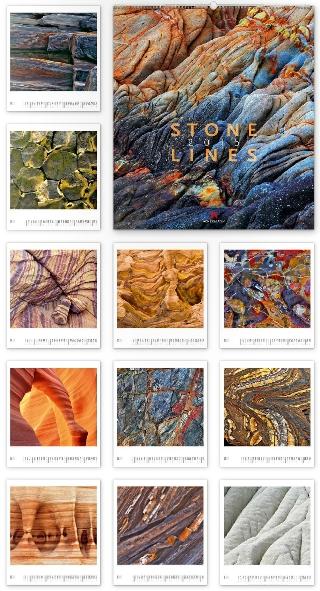 Stonelines 2015 - Ackermann Kunst-Kalender