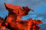 Besonders fragile Sandsteinformationen verbergen sich nordöstlich von las Vegas auf dem relativ kleinen Little Finland Plateau in der Gold Butte Area.