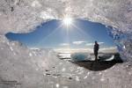 Es kann im Winter in Island auch herrlich sonnig sein, es kann… es muss aber nicht ;-)