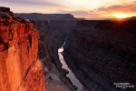Sonnenaufgang am Toroweap Point im westlichen Grand Canyon Nationalpark