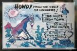 Lustige Warnschilder beim Toroweap Point am entlegenen Arizona Strip, 160 km von der nächsten Stadt entfernt aber nur ganze 3 m von der Hölle... ;-)