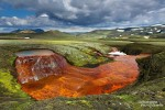 Wir freuten uns über all die unvergesslichen Momente im isländischen Hochland, wie z.B. hier bei dieser herrlichen, entlegenen Quelle.
