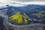 Einige Ziele wie den Maelifell, eine grüne *Zipfelmütze* mitten im isländischen Hochland die wir bislang nur aus der Luft kannten, haben wir dieses Mal auch aus der Nähe begutachtet.