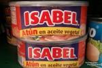 Und wenn wir schon bei Kuriositäten sind, das gab es im Carrefour: Isabel eingelegt in Pflanzenöl