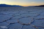 Die Salzkrusten von Badwater wie sie einst im Death Valley aussahen... Foto aus dem Jahr 2007