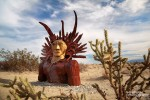 Behilflich dabei soll ihnen dieser einst in der Anza Borrego Wüste lebende Indianer gewesen sein.