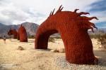 Gut 100 m lang soll die Serpent Skulptur sein.