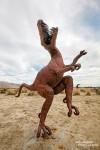 Und dieser Velociraptor war vielleicht auch schon mal glücklicher... ;-)