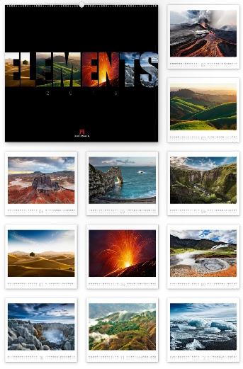Elements 2016 - Ackermann Kunst-Kalender