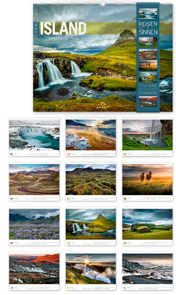Island 2016 - Reisen mit allen Sinnen
