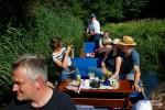 Am und vom Boot aus wurde viel fotografiert.