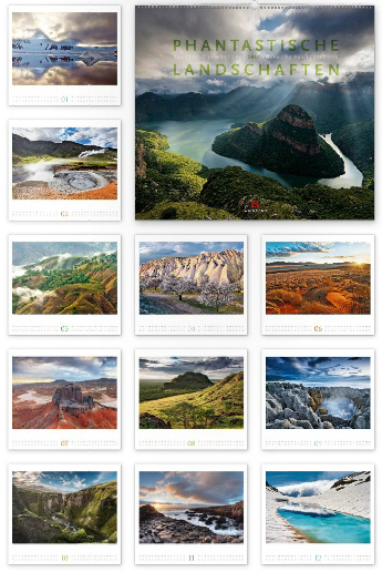 Phantastische Landschaften 2016 - Ackermann Kunst-Kalender