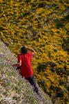 Die Berghänge der Temblor Range waren teilweise so steil und schräg, dass ich kaum hinschauen konnte, wo Steffen da wieder mal herumgeklettert ist...
