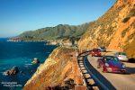 Hwy #1 am Big Sur, die berühmte Küstenstrecke südlich von San Francisco
