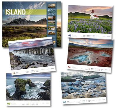 Island Kalender von Ackermann 2018