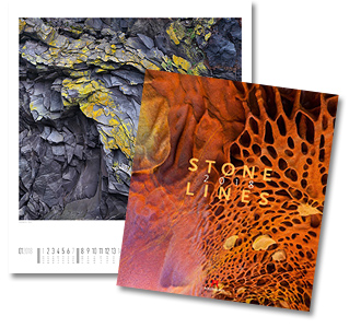 Stonelines Kalender von Ackermann 2018