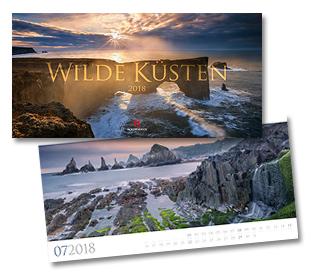Wilde Küsten Kalender von Ackermann 2018
