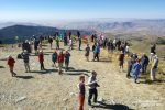 Und das war der Fernblick von ganz oben am Big Lookout Mountain am nächsten Morgen mit der doch recht überschaubaren Anzahl an Menschen, die neugierig auf die Solar Eclipse warteten.