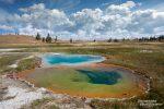 Auch ein grandioser Anblick, wenn gleich zwei unterschiedlich farbige Pools sich so eng aneinander schmiegen!