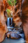 Wasserfall im Kanarra Creek Canyon