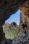 Auch die Aussicht von so mancher Cave war interessant.